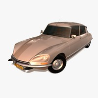 cinema4d citroen ds 1970