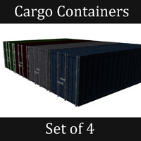 3d set contains cargo