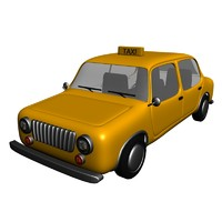 cartoon taxi ma