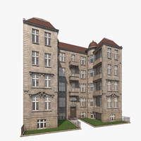 berlin residence theodorstrasse 3 3d model