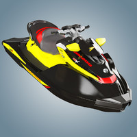 3d model personal watercraft sea 260