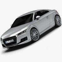 3d model of 2015 audi tt interior