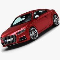 3d model 2015 audi tts