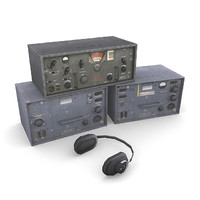 german radios 3d model