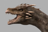3ds max dragon animal reptile
