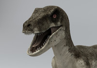 3ds max raptor animation zbrush