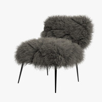 maya baxter nepal chair hair fur