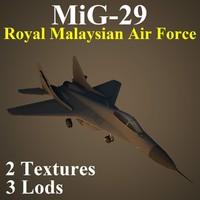 3d model mikoyan rmf