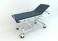 3d hospital gurney model