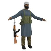 maya mujahideen ak47 soldier