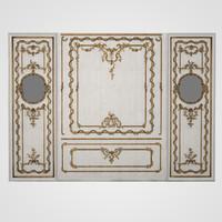 3d model austian palace 18 century