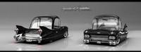 3d model cadillac 1959