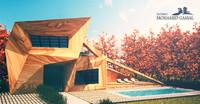 wooden villa landscape max