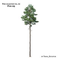 3dsmax pine-tree tree