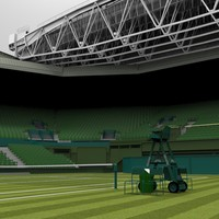 3d wimbledon centre court
