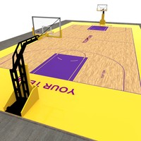 x basketball court