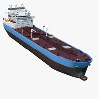 tanker vessel 3ds