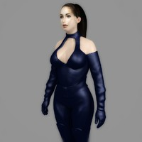 3ds max sexy girl sophia