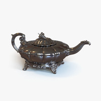 Antique Irish Silver Teapot