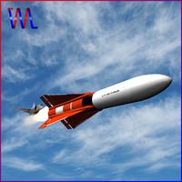 3d dxf aim-4 falcon missile