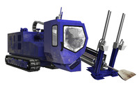 3d model drilling vehicle