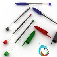 3d max ballpoint pen