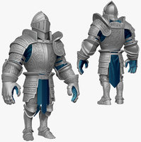 sculpt knight k3 series 3d 3ds