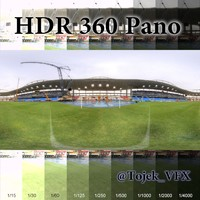 HDR 360 Pano Joao Havelange Olympic Stadium02 Engenhao
