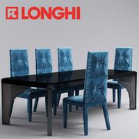maya rim chair table