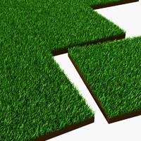 grass tiles 3d lwo