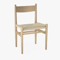 3d chair hans j -