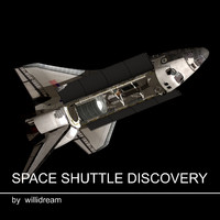 c4d spaceshuttle discovery