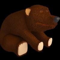 bear 1 3d 3ds