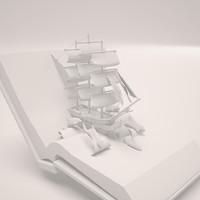 ship book 3d max
