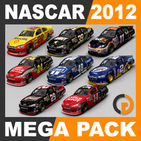 3ds max nascar 2012 - packed