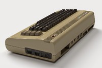 commodore 64 3d blend