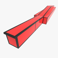 3d snowboard ramp