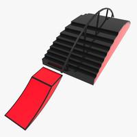 3dsma snowboard ramp