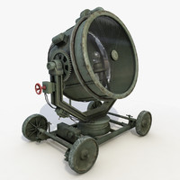 military searchlight max
