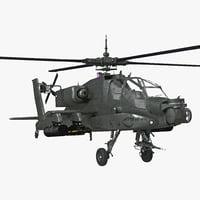 3d boeing ah-64 apache