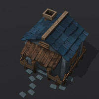 house post apocalyptic 3d max