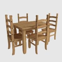 Corona Dining Table Set