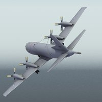 norwegian p3 orion 3d model