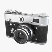 3d vintage camera model