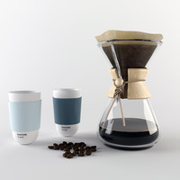 Chemex Coffee Maker & Pantone Mug