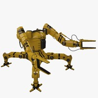 3d model robot builder