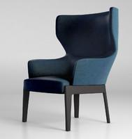 armchair chair molteni max