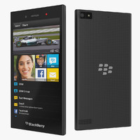 max blackberry z3 smartphone black