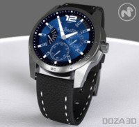 watch brands 3d model