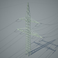 power pole fbx